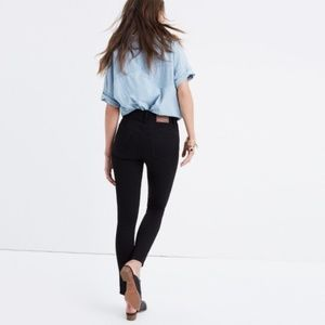 Madewell 9 Inch High Rise Jeans